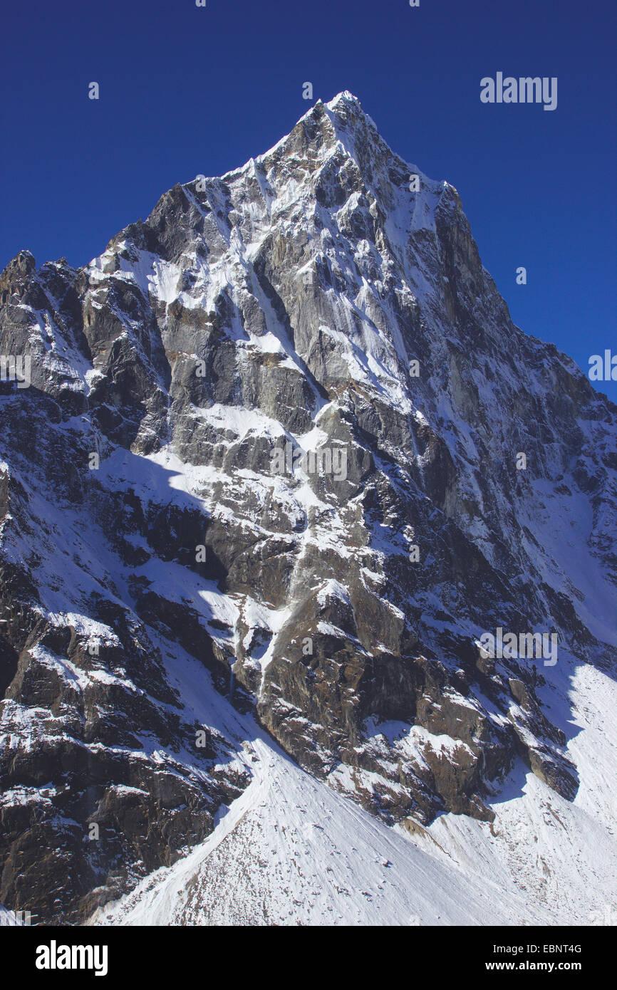 Cholatse, Nepal, Himalaya, Khumbu Himal Immagini Stock