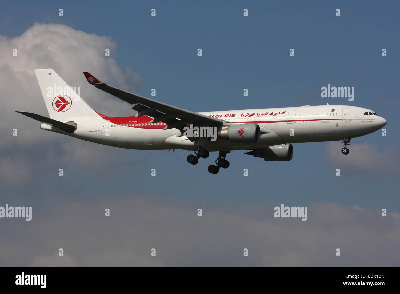 AIR ALGERIE ALGERIA A330 Immagini Stock