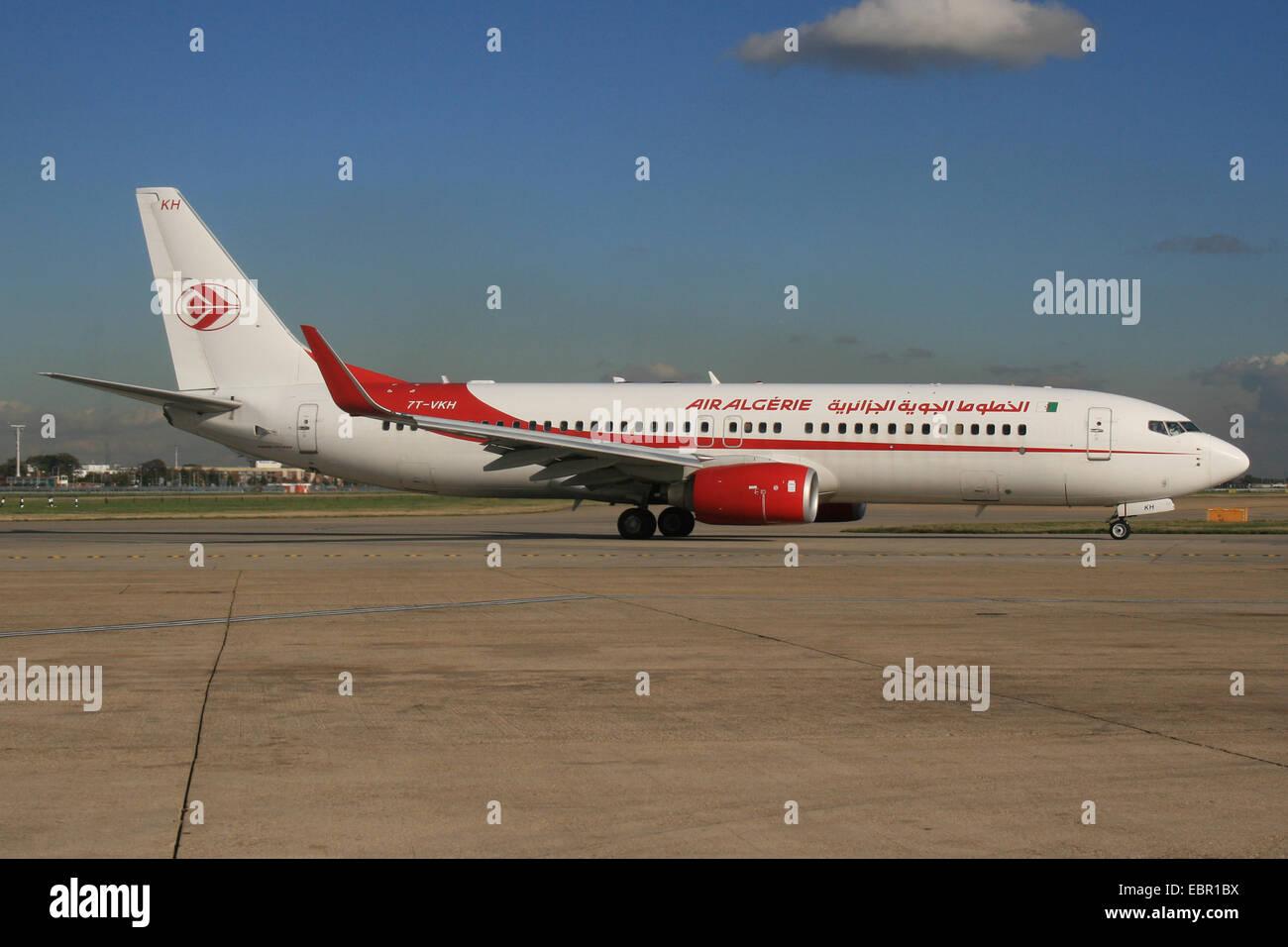 AIR ALGERIE ALGERIA 737 800 Immagini Stock