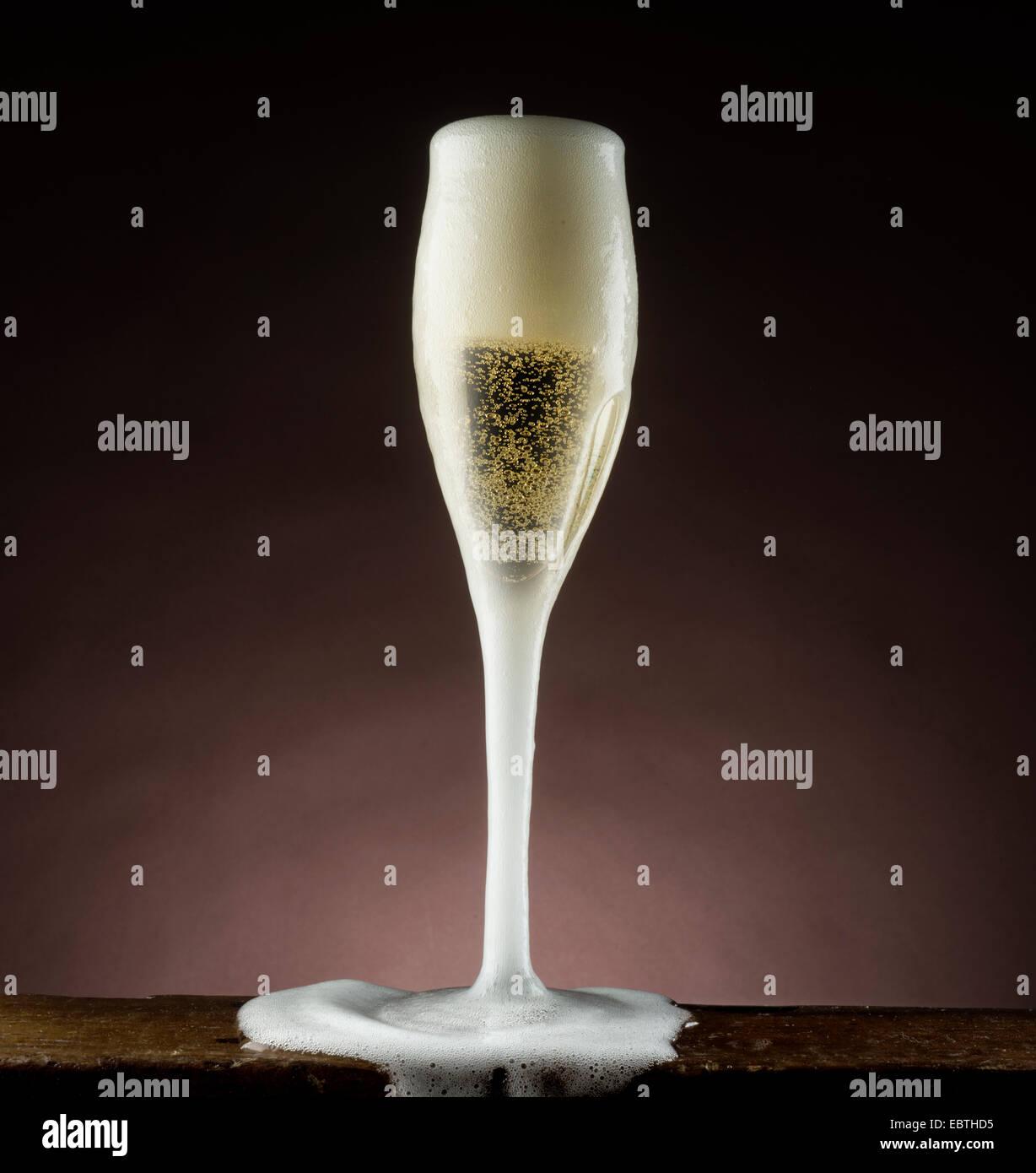 bicchiere da Champagne Immagini Stock