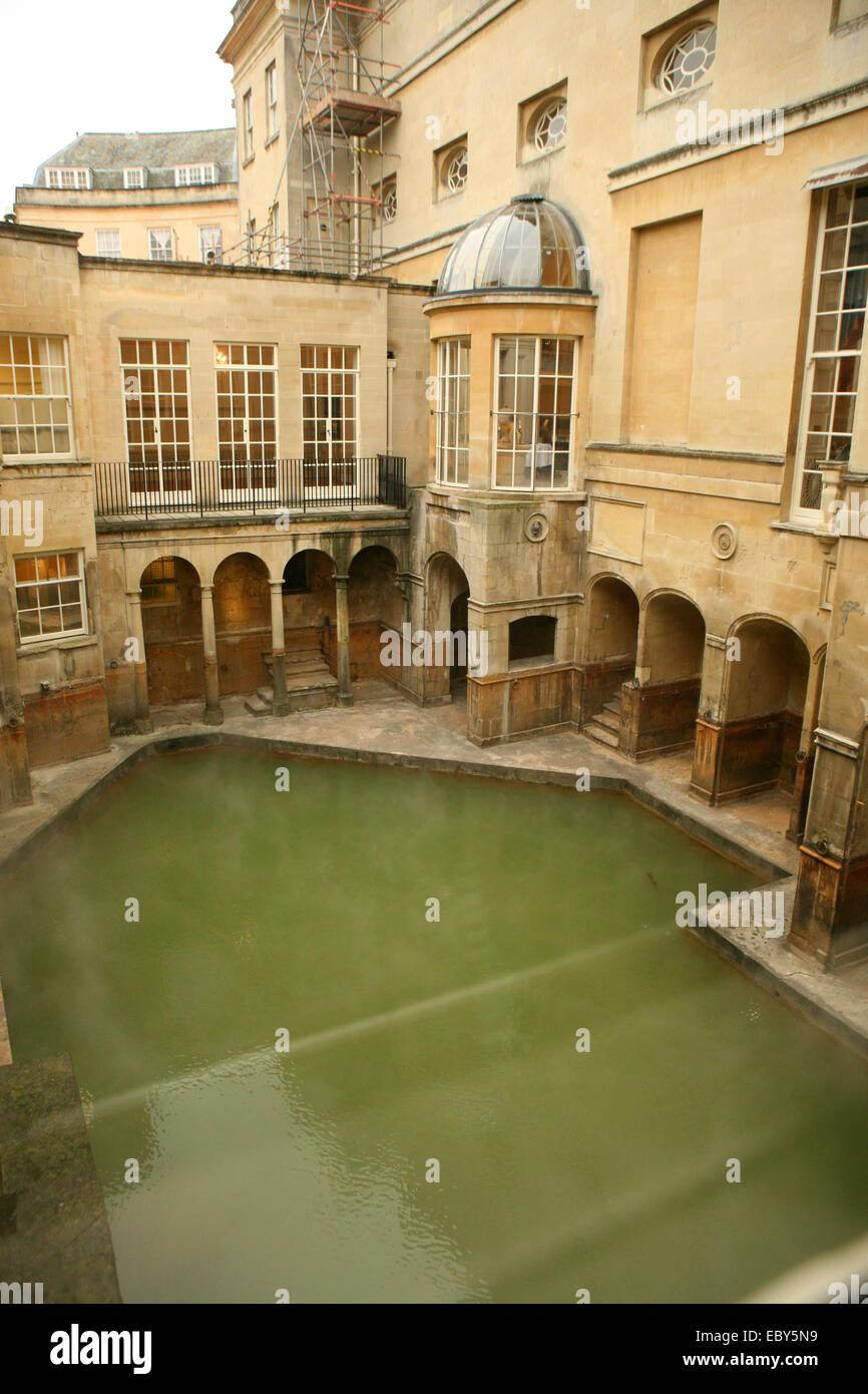 Re ai bagni Bath Regno Unito Immagini Stock
