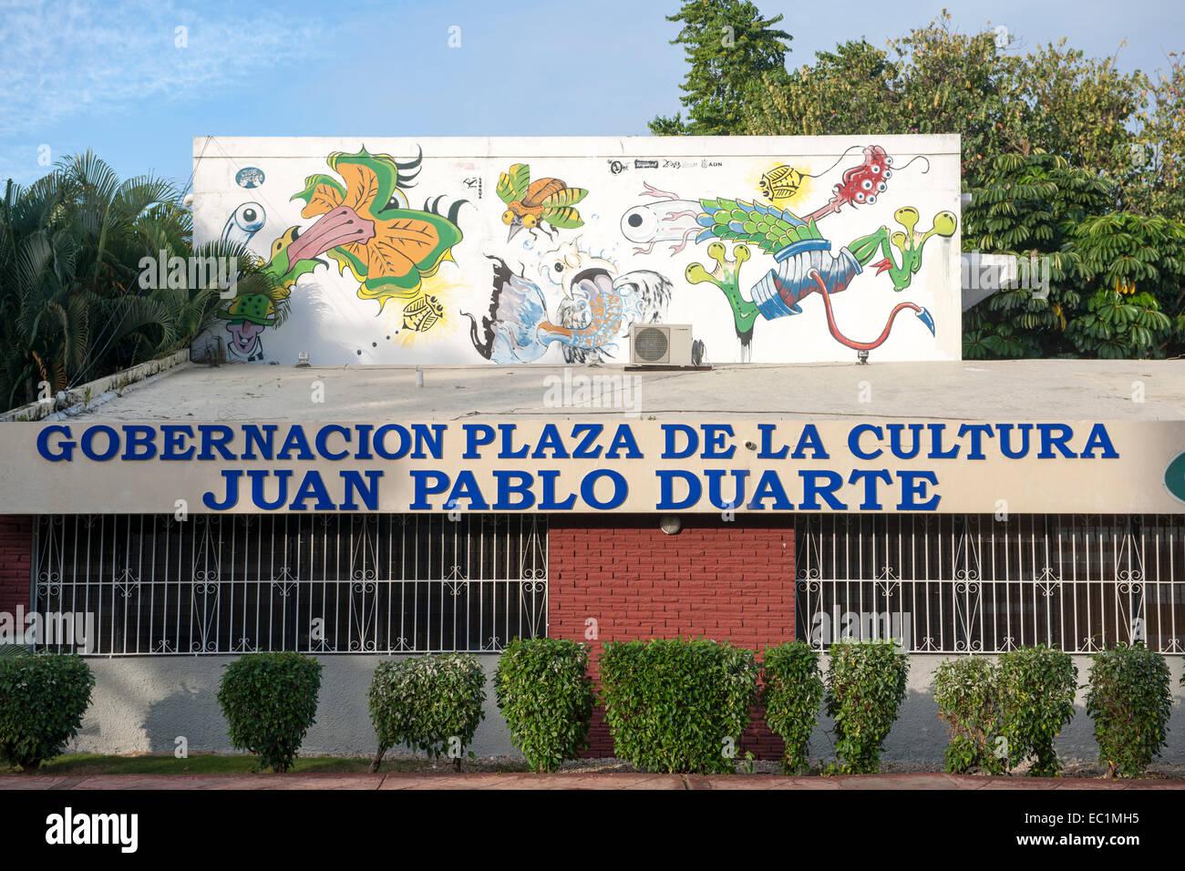 Dominikanische Republik, Santo Domingo, Parque de la Cultura, Immagini Stock