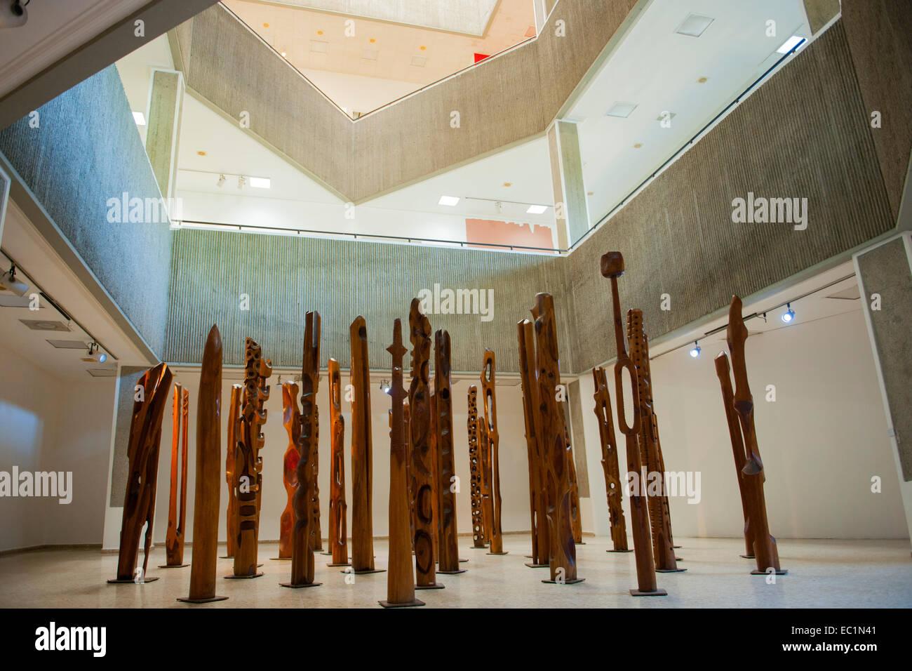 Dominikanische republik, santo domingo, Parque de la cultura, il museo de arte moderno Immagini Stock