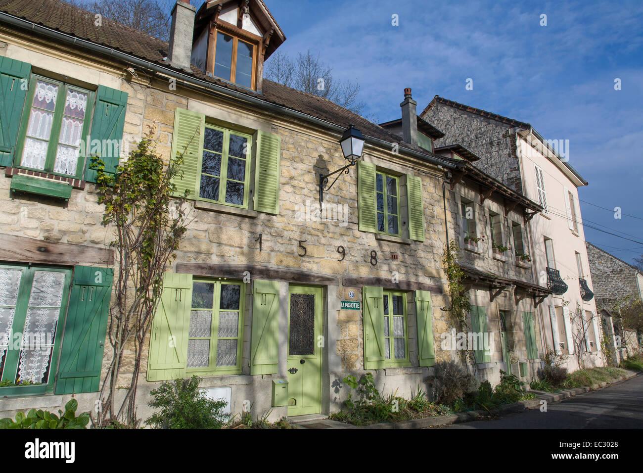francia val d 39 oise auvers sur oise il villaggio dove vincent van gogh stato di vita al. Black Bedroom Furniture Sets. Home Design Ideas