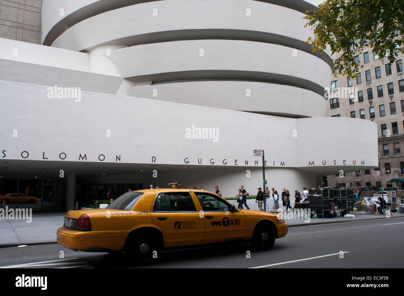 Solomon R Guggenheim Museum. 1071 Fifth Avenue e la 89° Street. Tel 212-423-3500. (Sun-Wed 10am-5: 45pm / Ven Immagini Stock