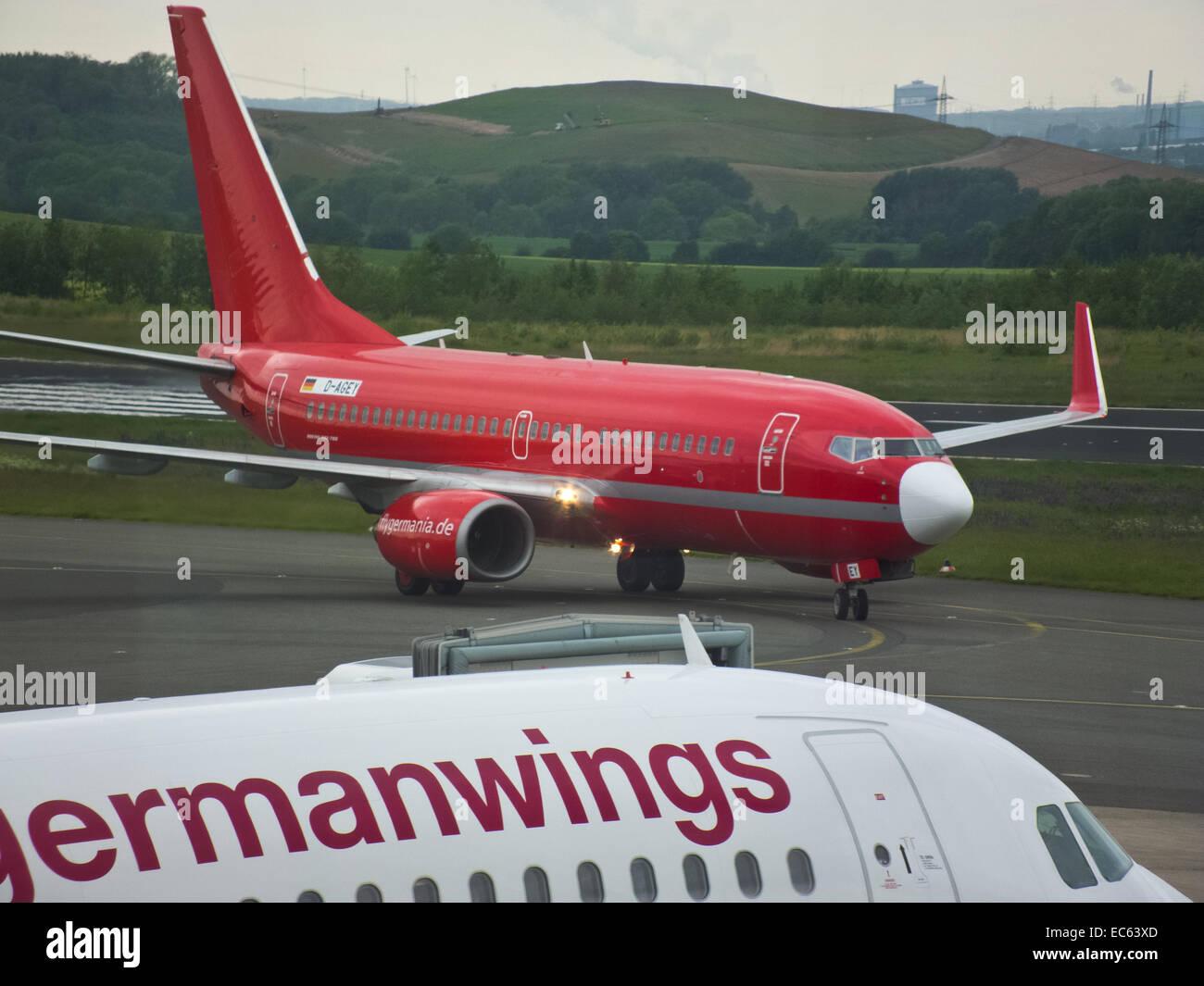 Germanwings e Germania Immagini Stock