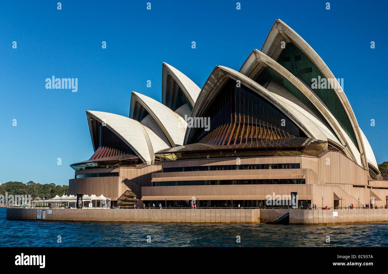 Sydney Opera House di Sydney, Nuovo Galles del Sud, Australia Immagini Stock