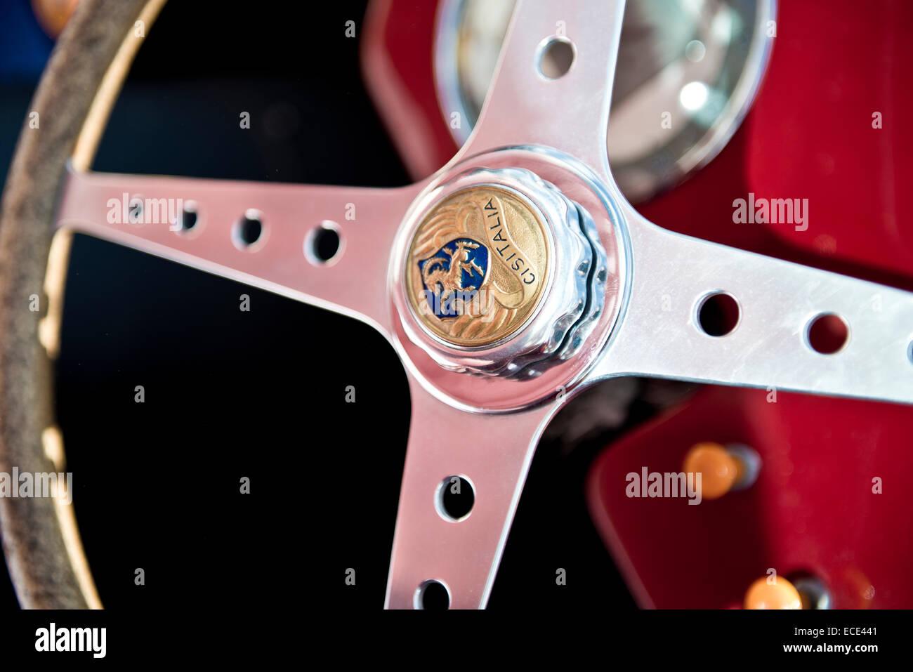 Cisitalia classic car volante Immagini Stock