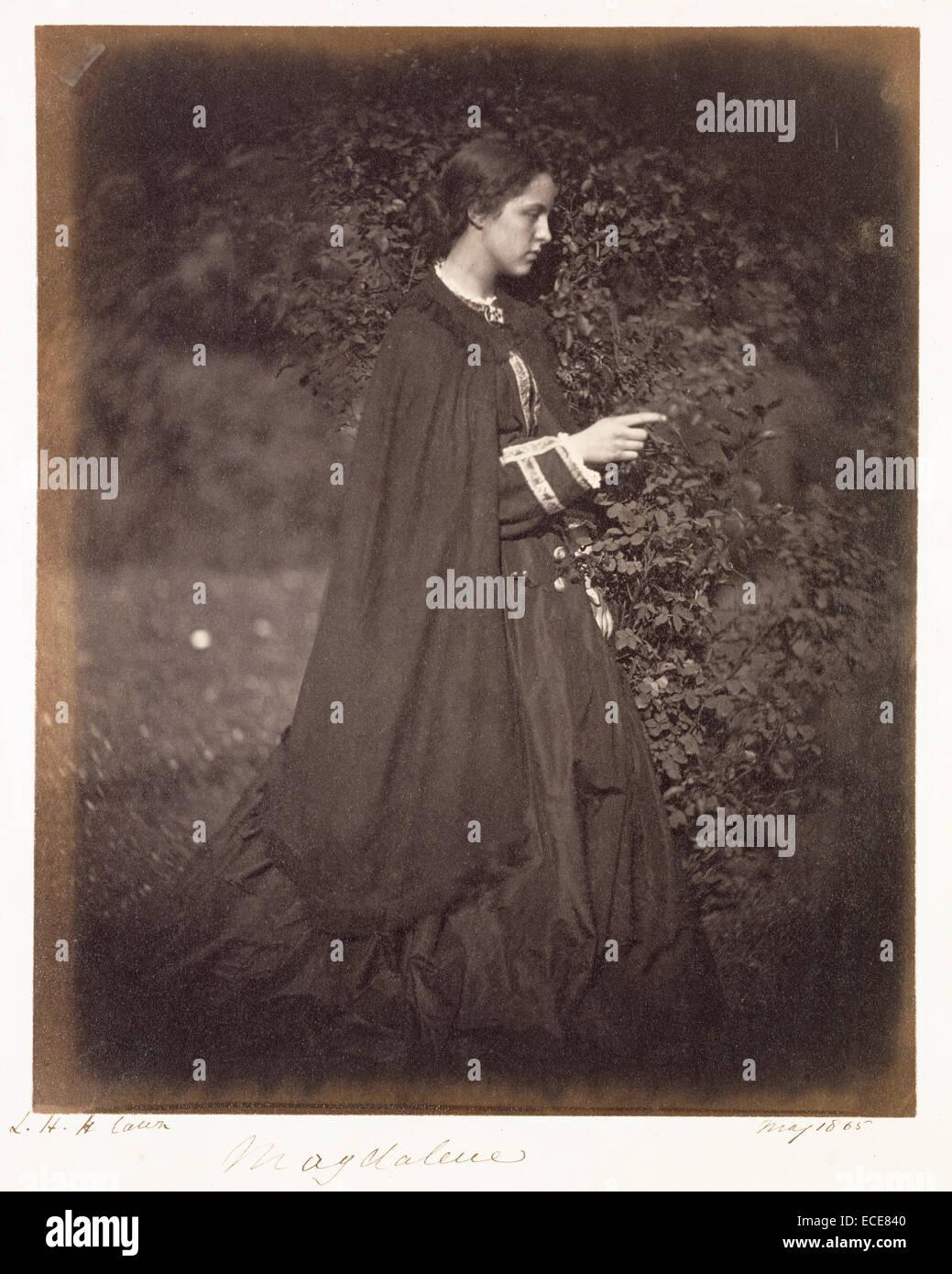 Maddalena (Brookfield); Julia Margaret Cameron, britannico, nato in India, 1815 - 1879; Londra, Inghilterra, Europa; Immagini Stock