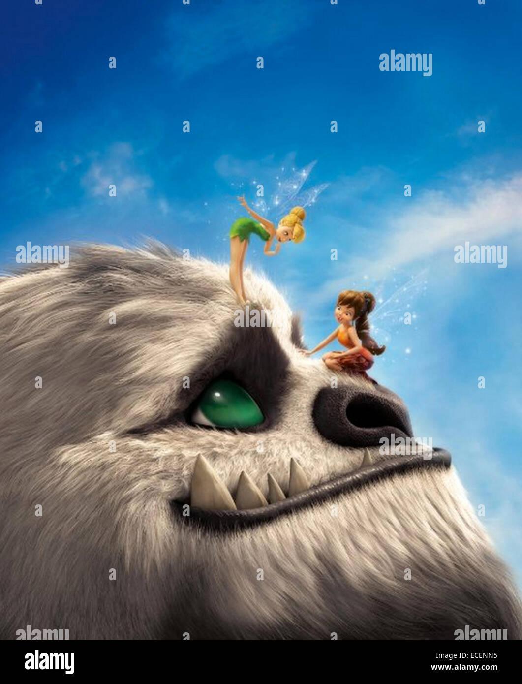 Leggenda della NEVERBEAST 2014 imprese Disney cartoon Immagini Stock