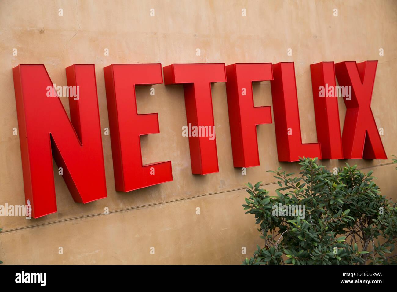 La sede centrale di Netflix. Immagini Stock