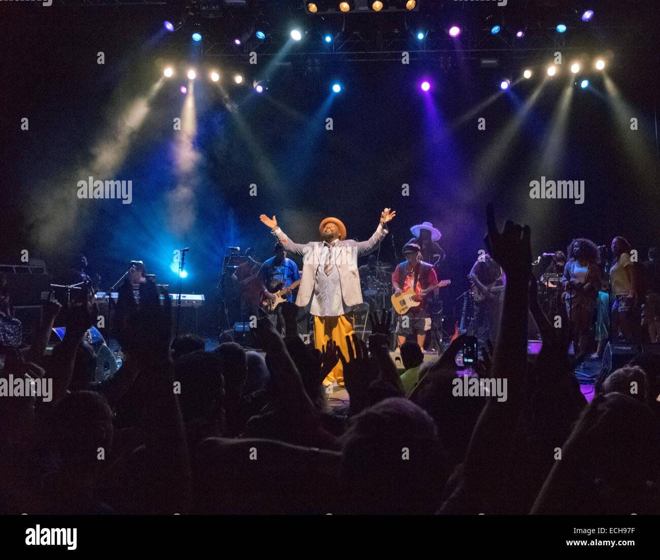 George Clinton performing live in London REGNO UNITO Immagini Stock