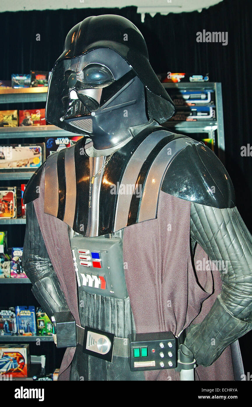 Darth Vader, Star Wars costume Immagini Stock
