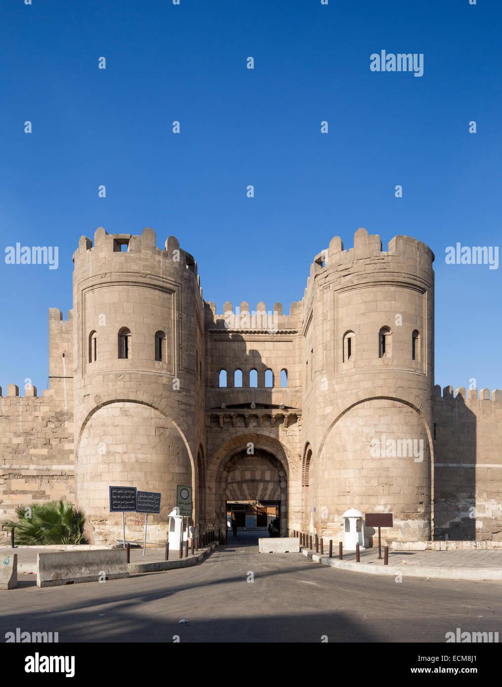 Bab al-Futuh al Cairo, Egitto Immagini Stock