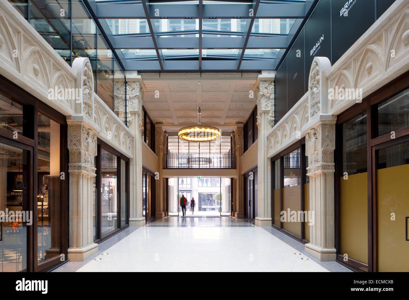 Kaisergalerie mall high end negozi atrium con piano terrazzo