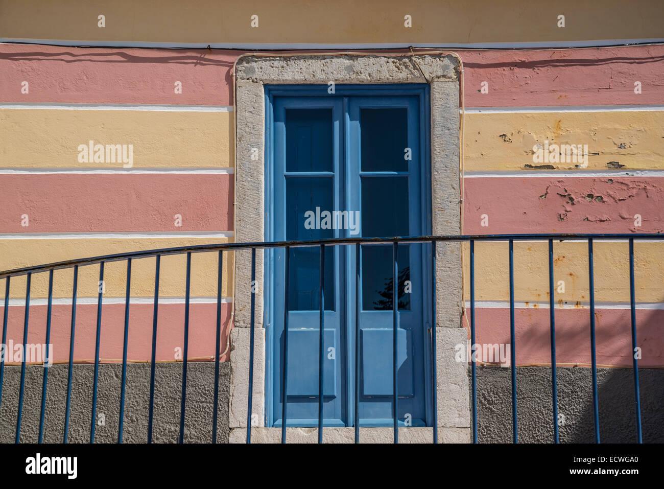 Il Blue Door, Cascais, Portogallo Immagini Stock