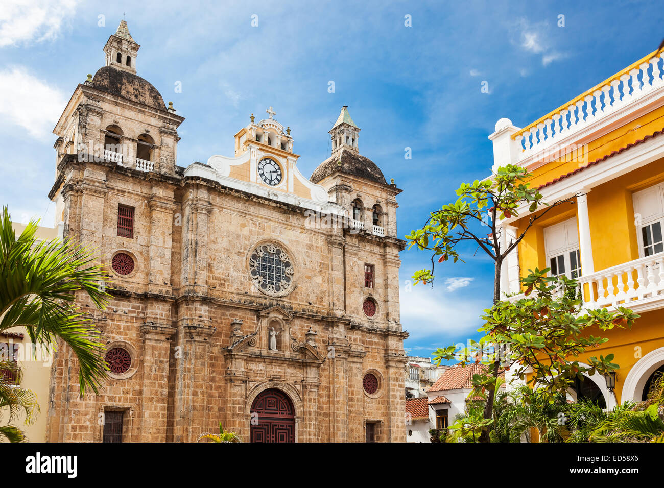 Cartagena, Colombia Immagini Stock