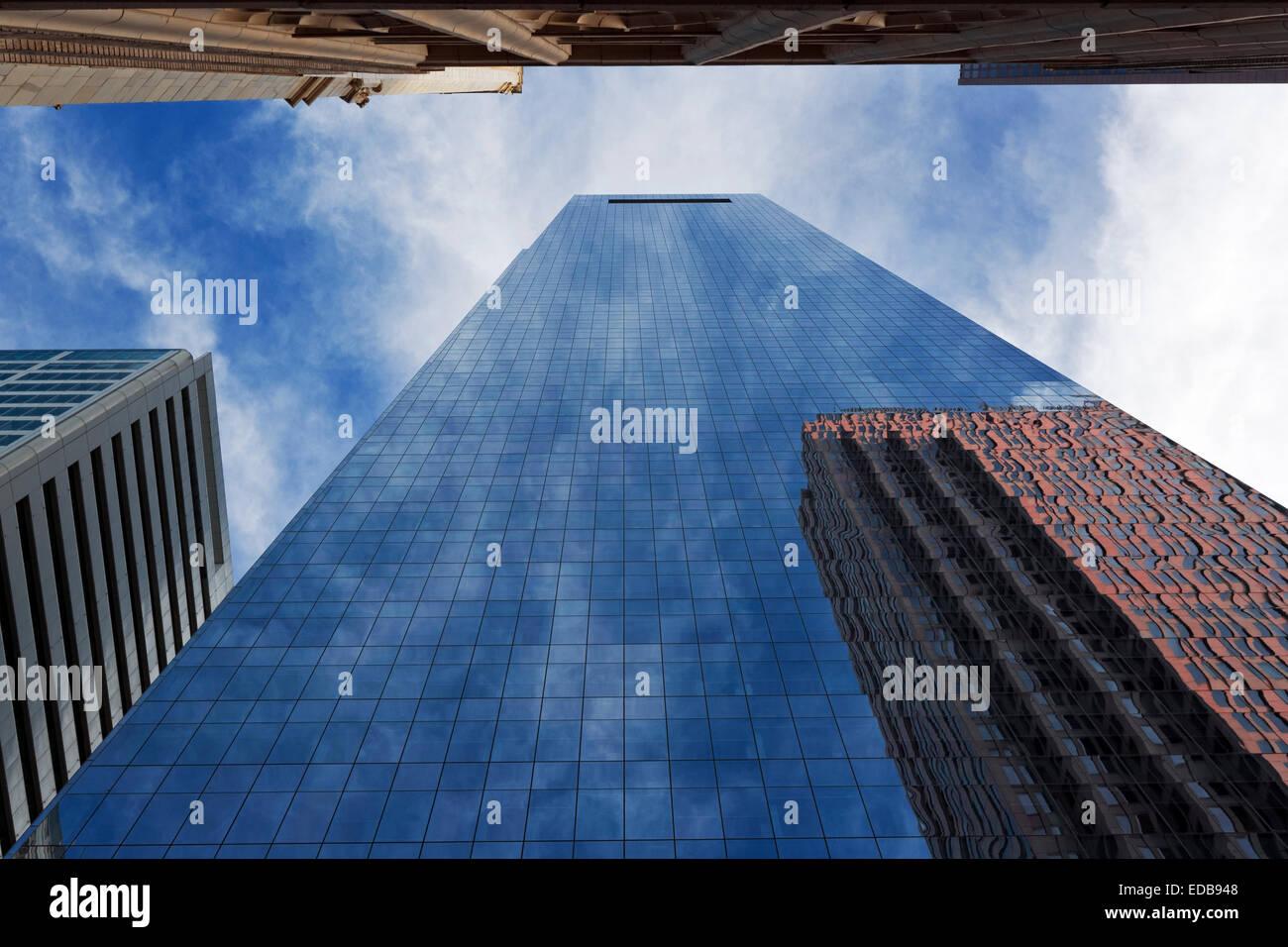 Edificio per uffici di riflessioni, Philadelphia, Pennsylvania Immagini Stock