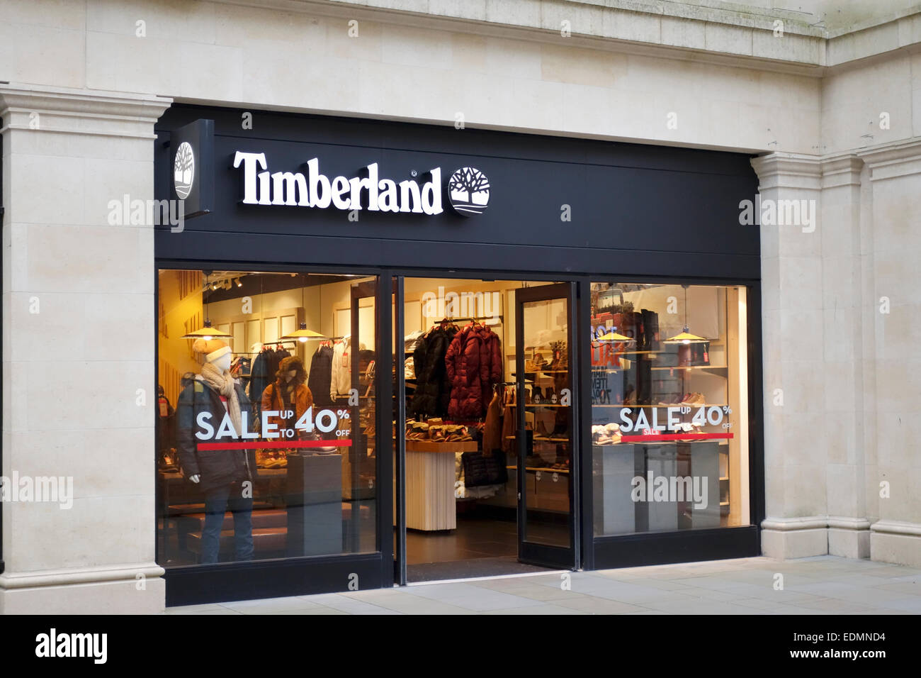 Timberland Shop Window Immagini e Fotos Stock Alamy