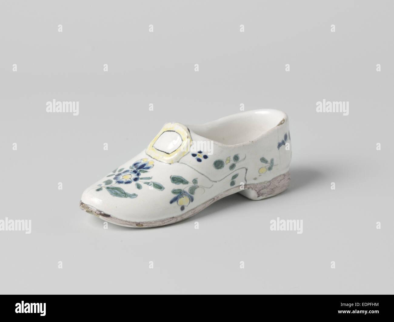 Oggetto nella forma di una calzatura, anonimo, c. 1800 - c. 1900 Immagini Stock