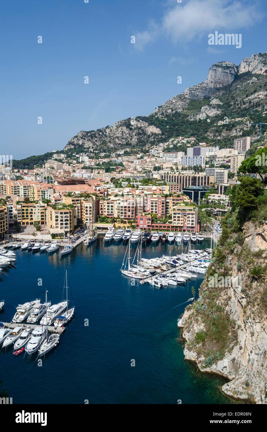 Veduta di Monaco Immagini Stock
