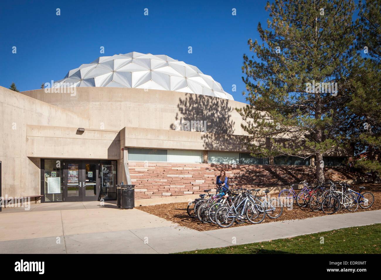 Fiske Planetarium a CU Boulder. Immagini Stock