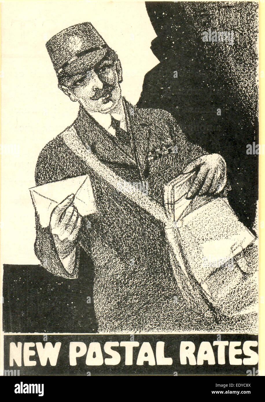 Opuscolo pubblicitario per Chas. Thurnam & Sons, stampanti Foto Stock