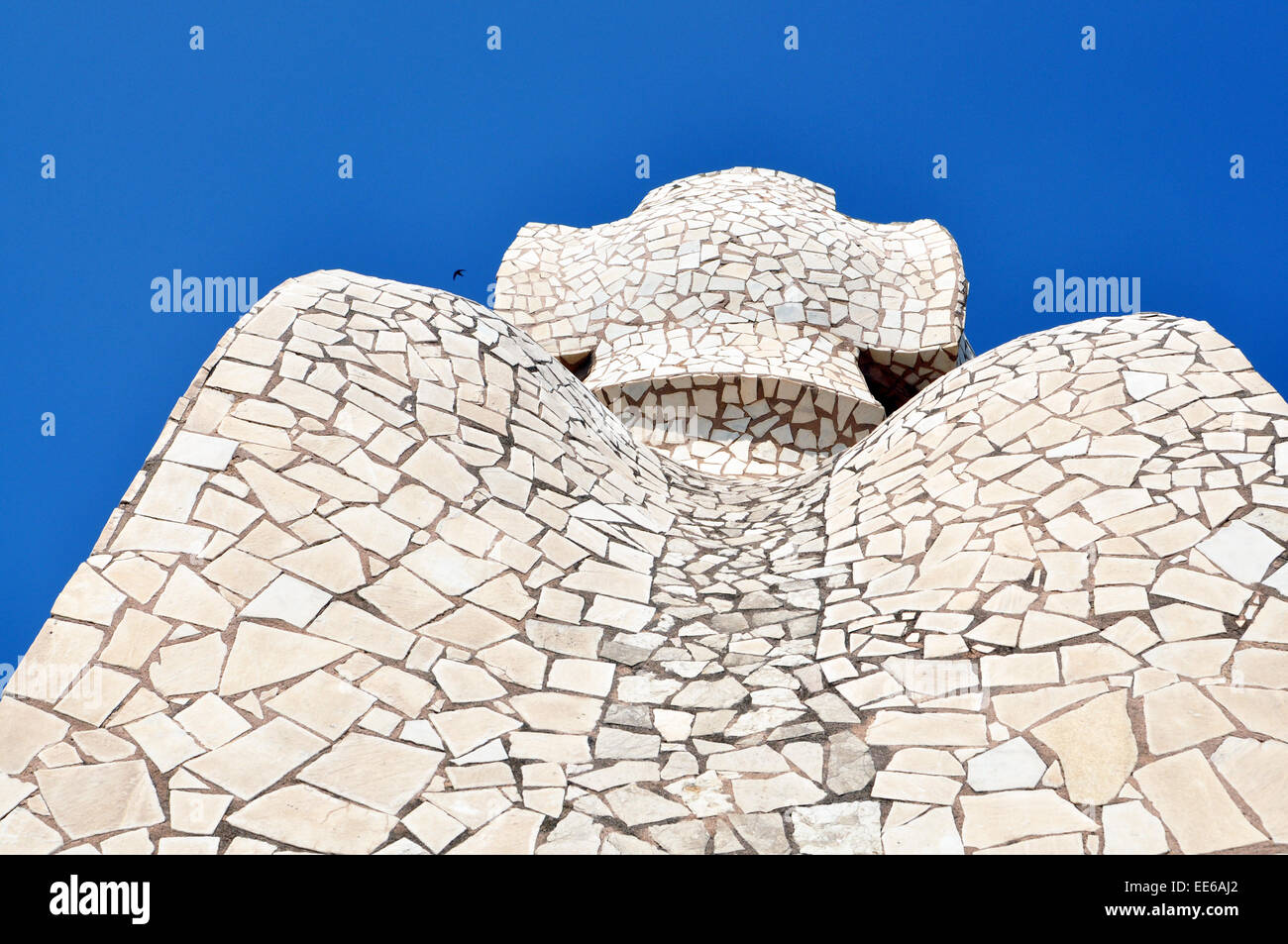 Vicino di Casa Mila Antoni Gaudì Barcellona Spagna Immagini Stock