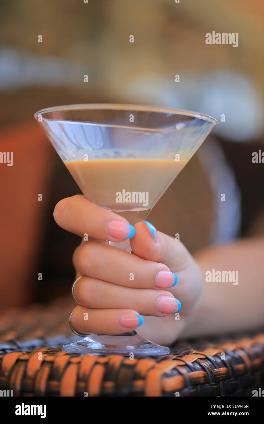 Liquore di Baileys Foto Stock