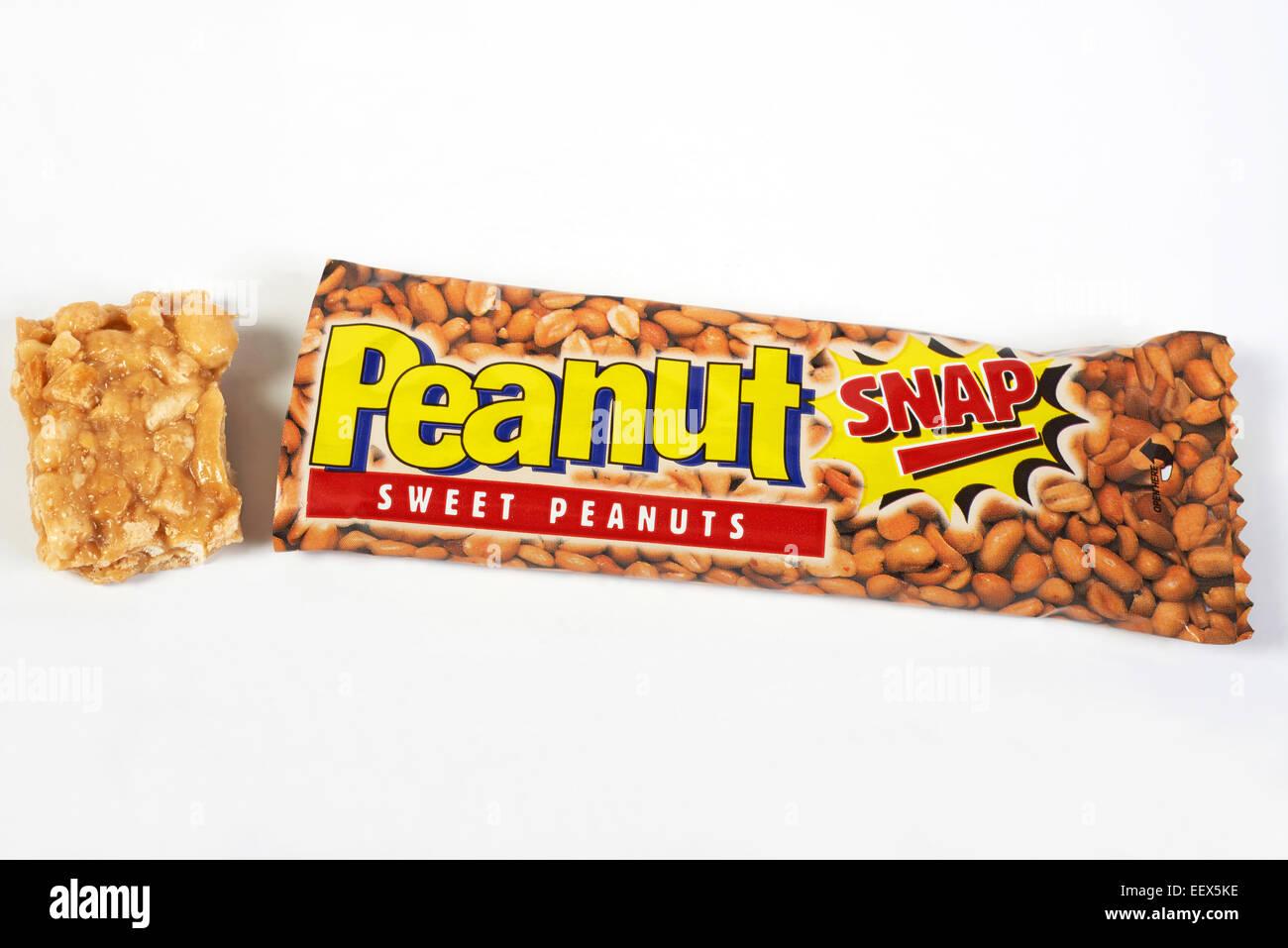 Anglo-Dal snap di arachidi noccioline dolce Immagini Stock