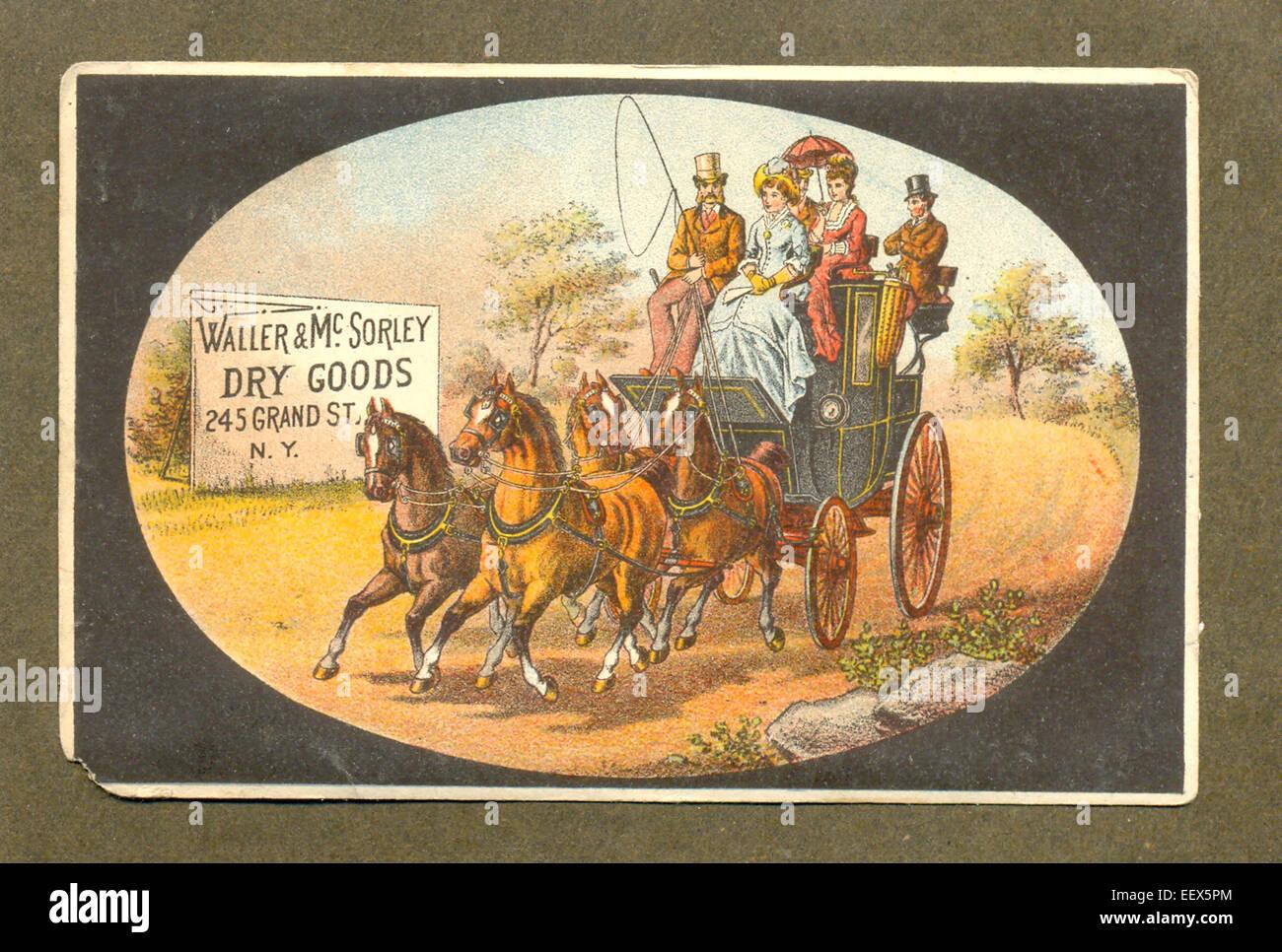 American scheda commerciale per la parete & McSorley Foto Stock