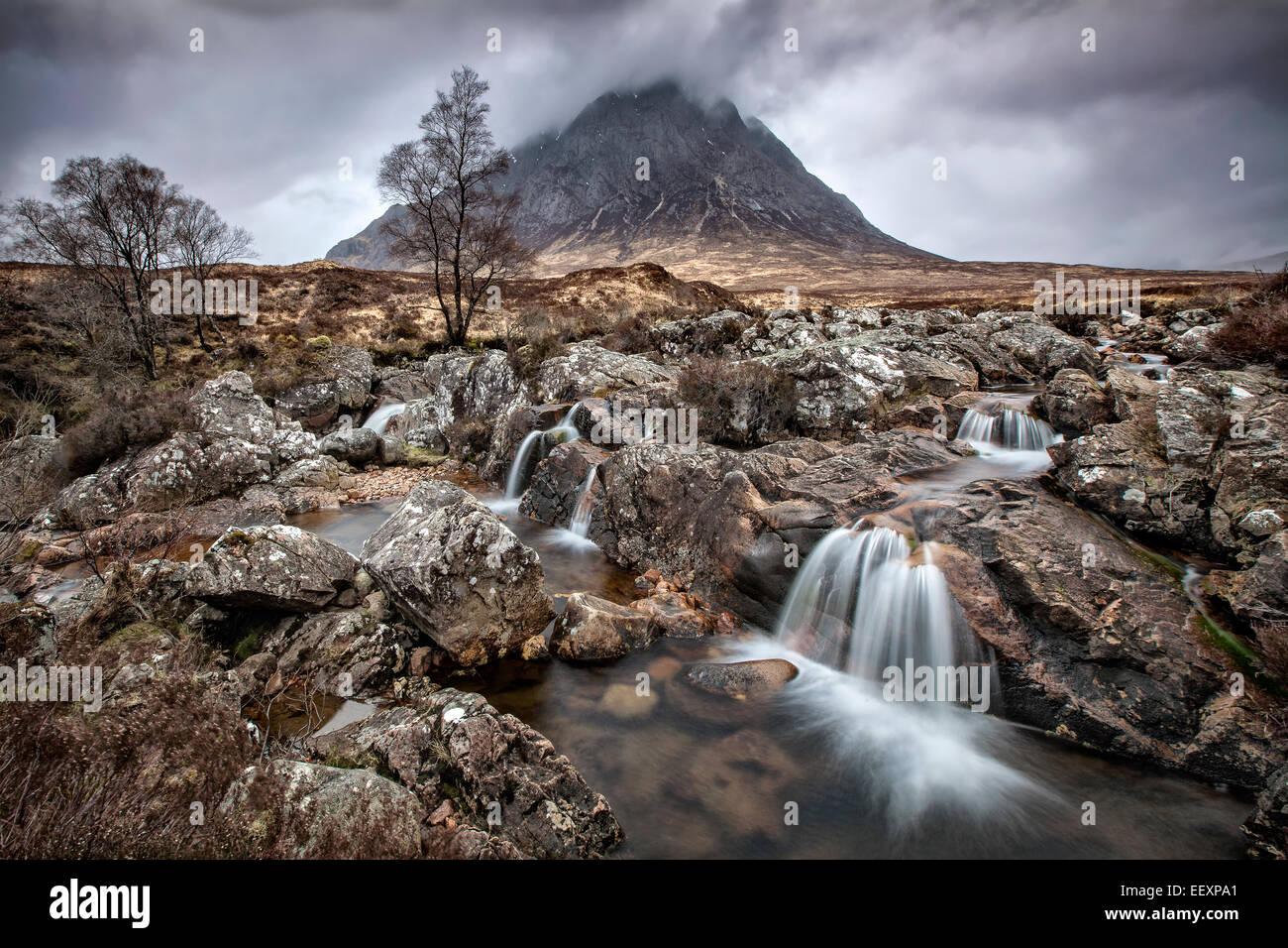 Etive Moor, Scozia Immagini Stock