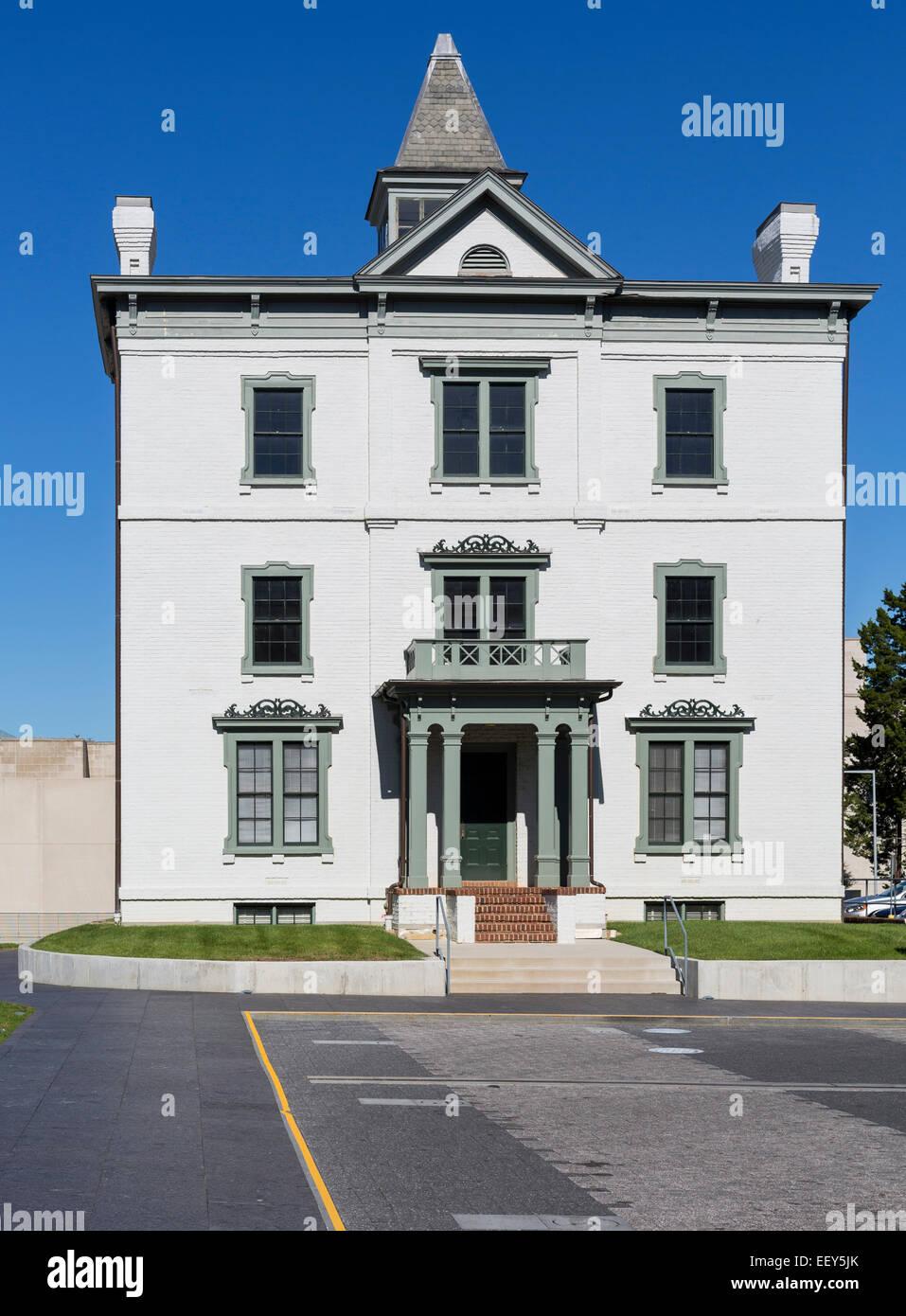 Virginia società storico edificio a al Museo delle Belle Arti della Virginia VMFA a Richmond, Virginia, Stati Immagini Stock