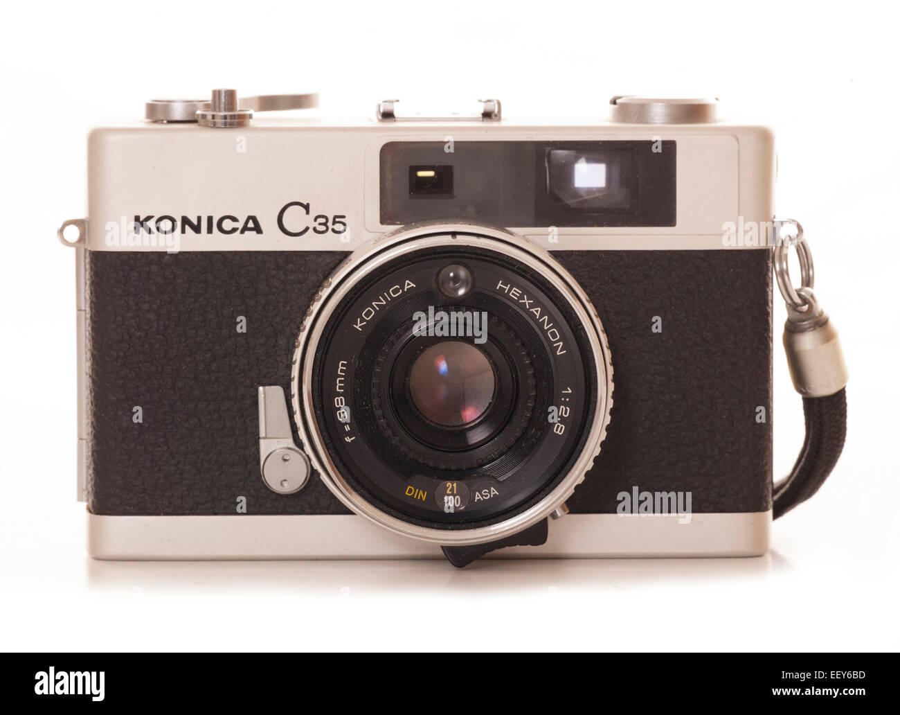 Konica c35 fotocamera fotocamera film di ritaglio Foto Stock