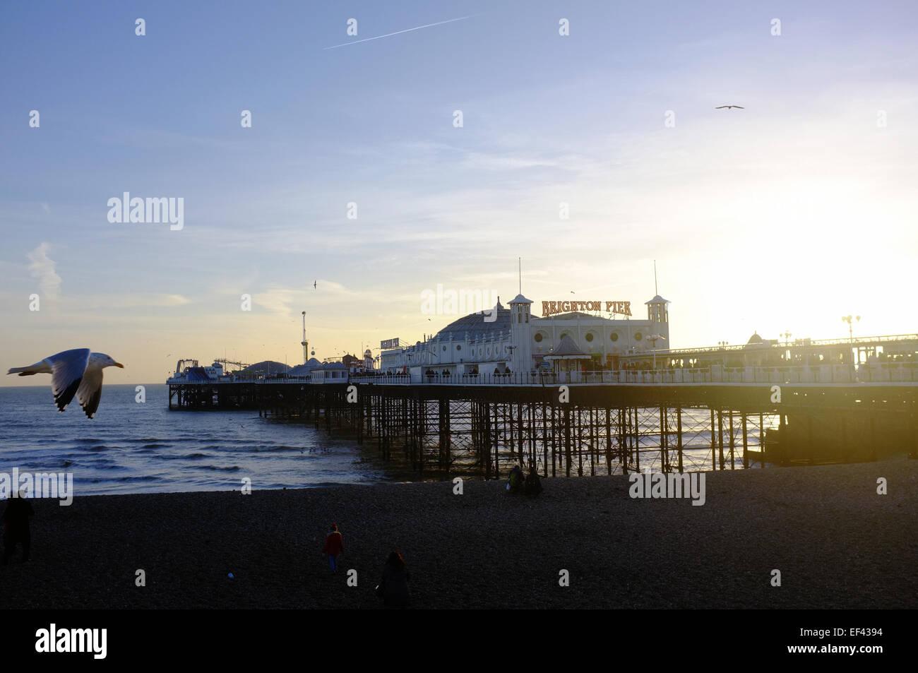 a Brighton. Foto Stock