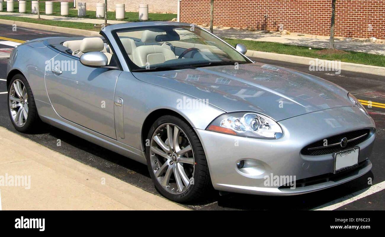 2007 la jaguar xk8 cabrio foto immagine stock 78202491. Black Bedroom Furniture Sets. Home Design Ideas