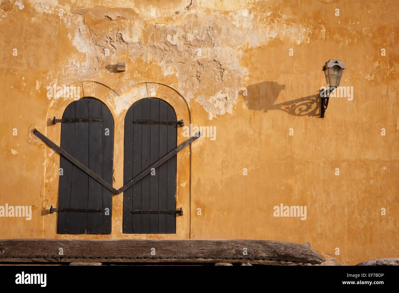 Architettura coloniale IN FORTE GALLE Immagini Stock