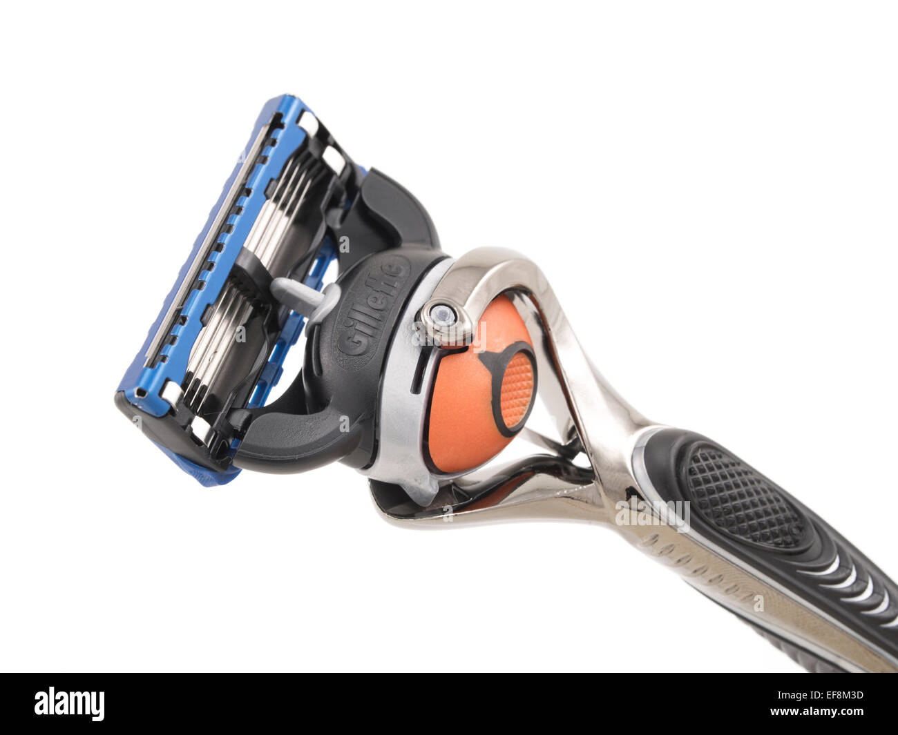 Gillette Proglide Fusion rasoio usa e getta con Flexball per la rasatura / per la cura del corpo maschile Immagini Stock