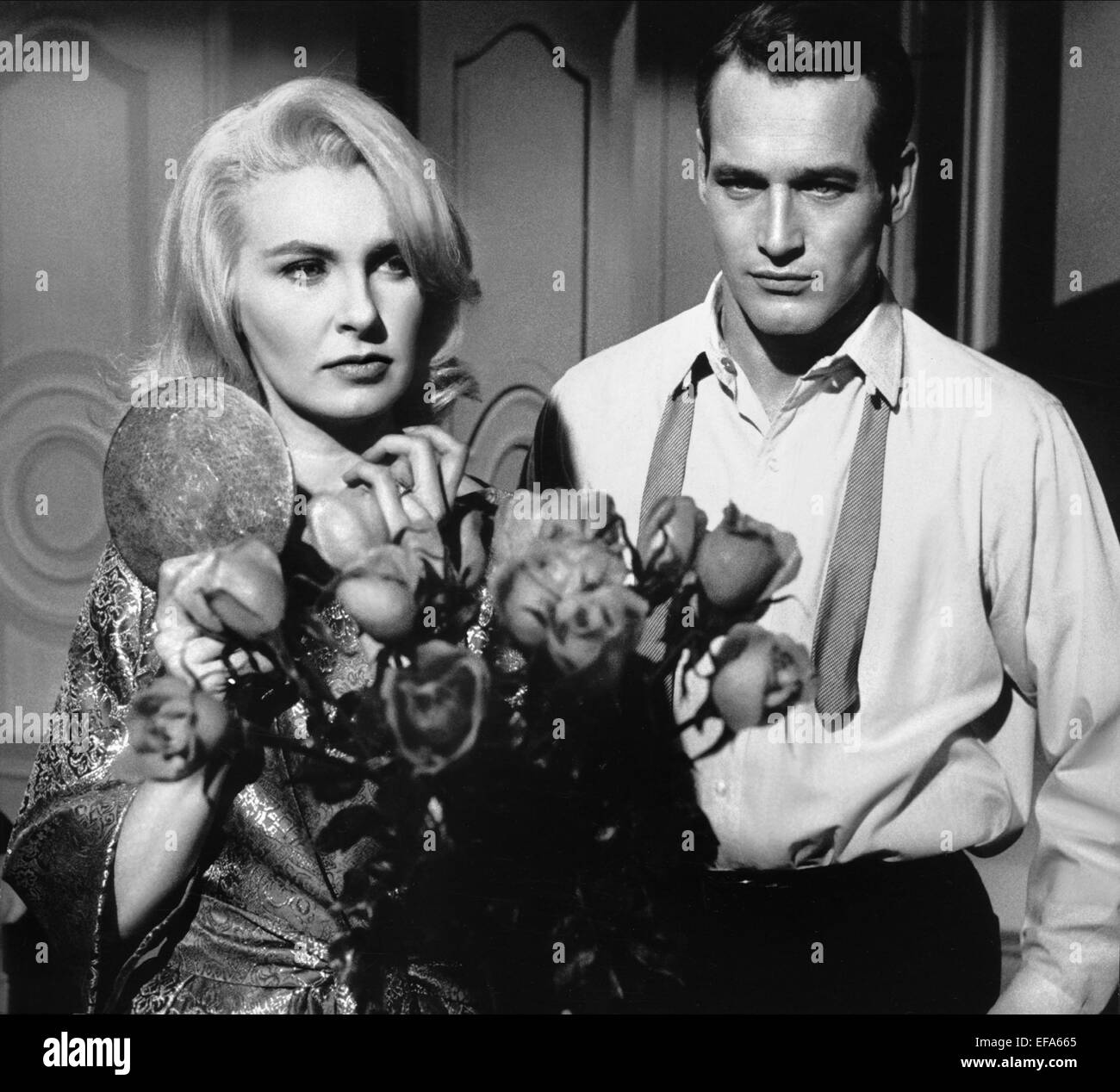 PAUL Newman e JOANNE WOODWARD dalla terrazza (1960 Foto & Immagine ...