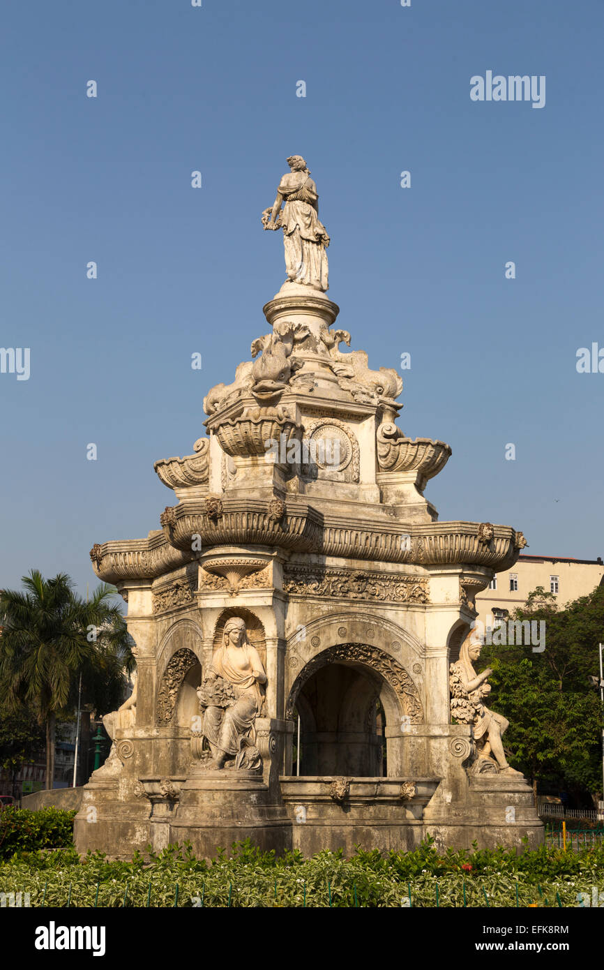 India Maharashtra, Mumbai, Flora fontana Immagini Stock