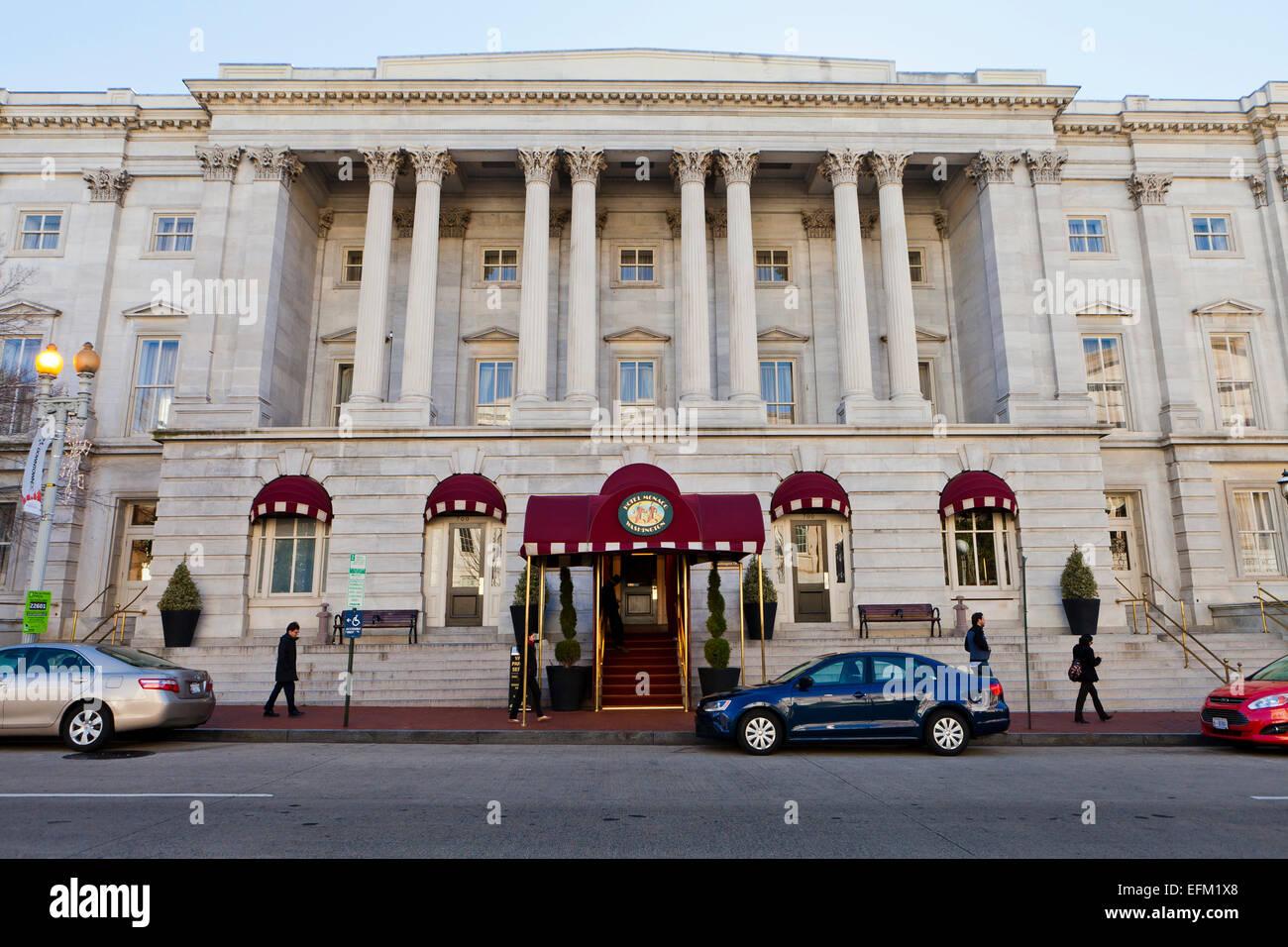 Hotel Monaco Washington - Washington DC, Stati Uniti d'America Immagini Stock