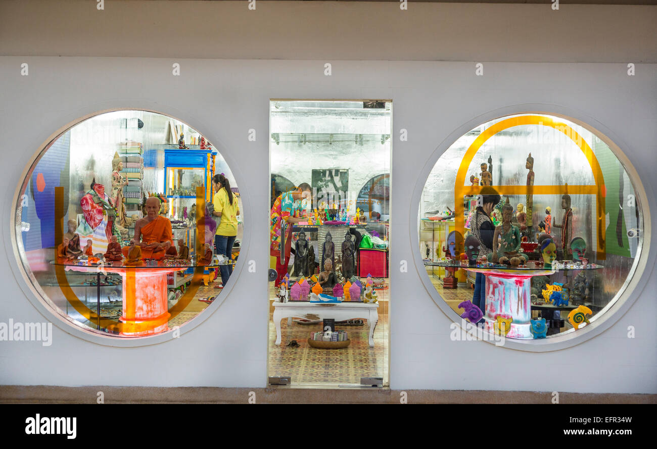 Wa Gallery Concept Store, Siem Reap, Cambogia. Immagini Stock