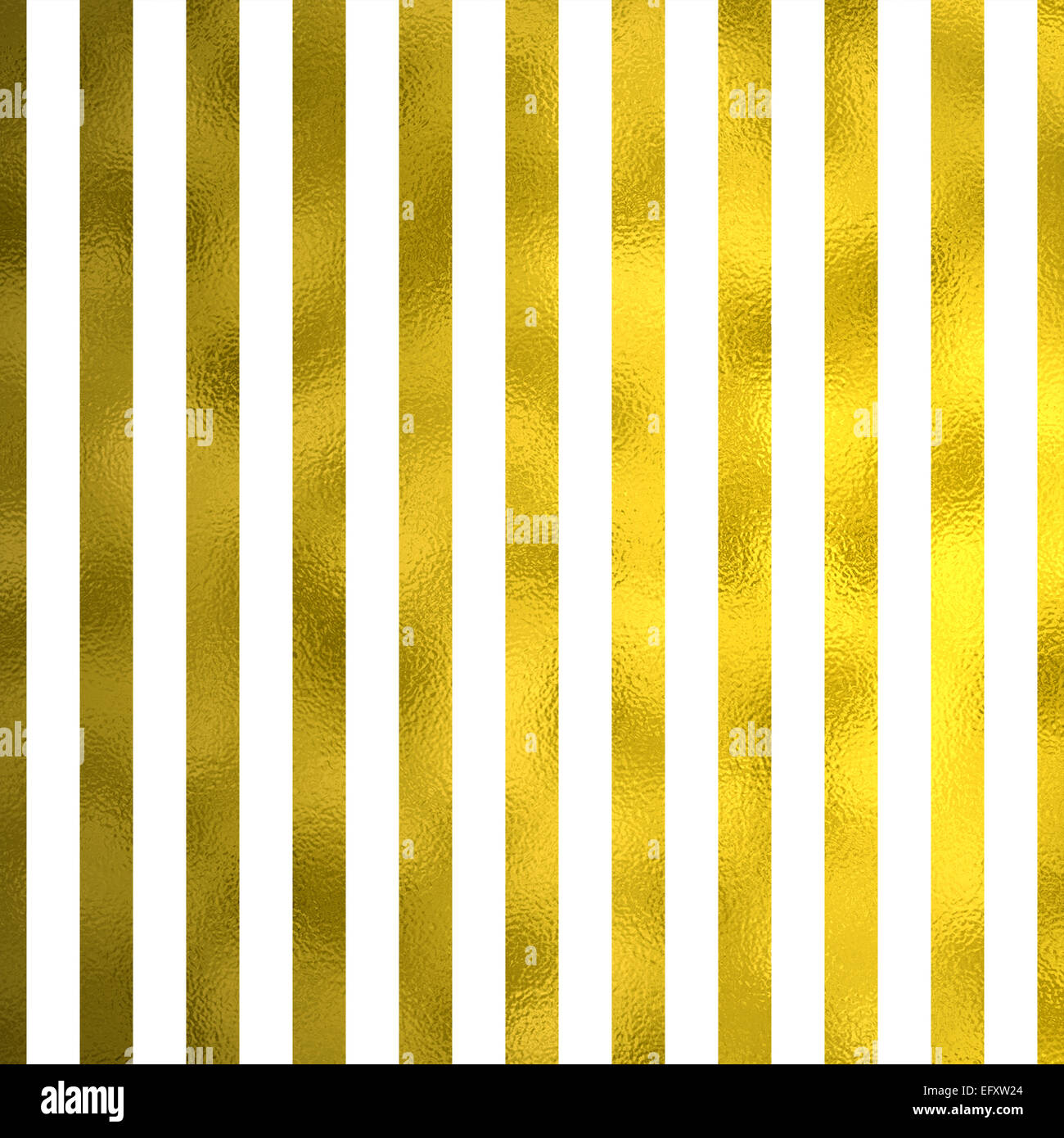 Bianco E Oro Metallizzato In Similpelle Di Strisce Di Lamina Sfondo