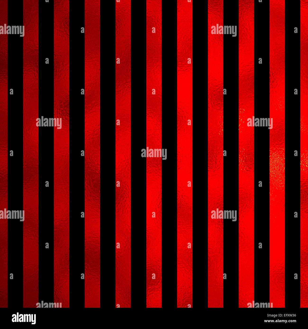 Rosso E Nero Metallizzato In Similpelle Di Strisce Di Lamina Sfondo