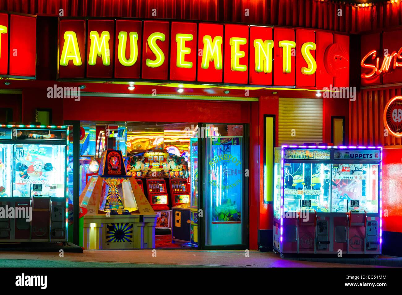 Sale Giochi Di Southend A Tarda Notte