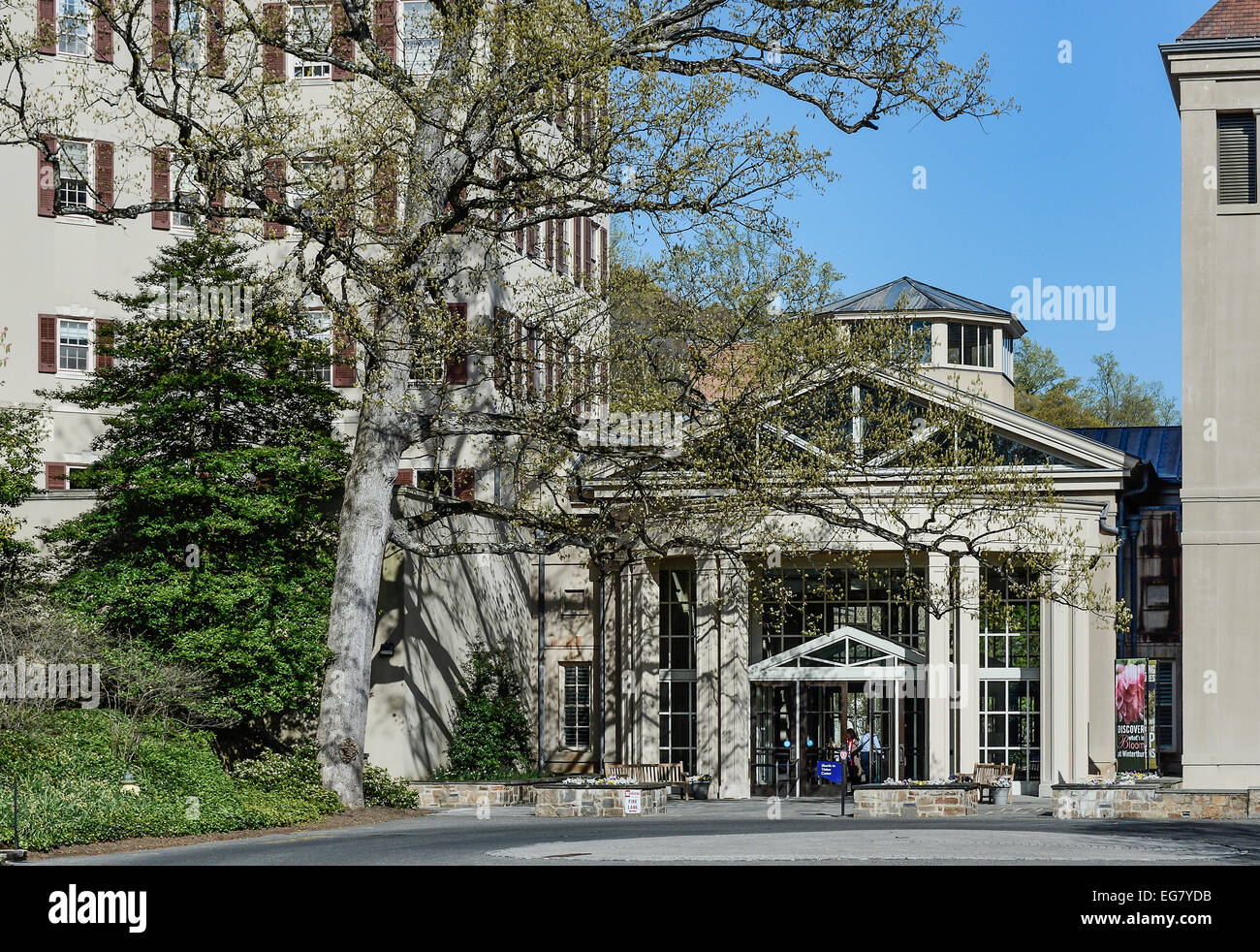 Winterthur museo di arti decorative e giardini, DELAWARE, STATI UNITI D'AMERICA Immagini Stock