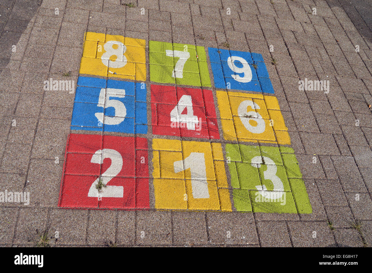 Bambini Gioco Allaperto Parco Giochi Per Bambini Campana Colorati