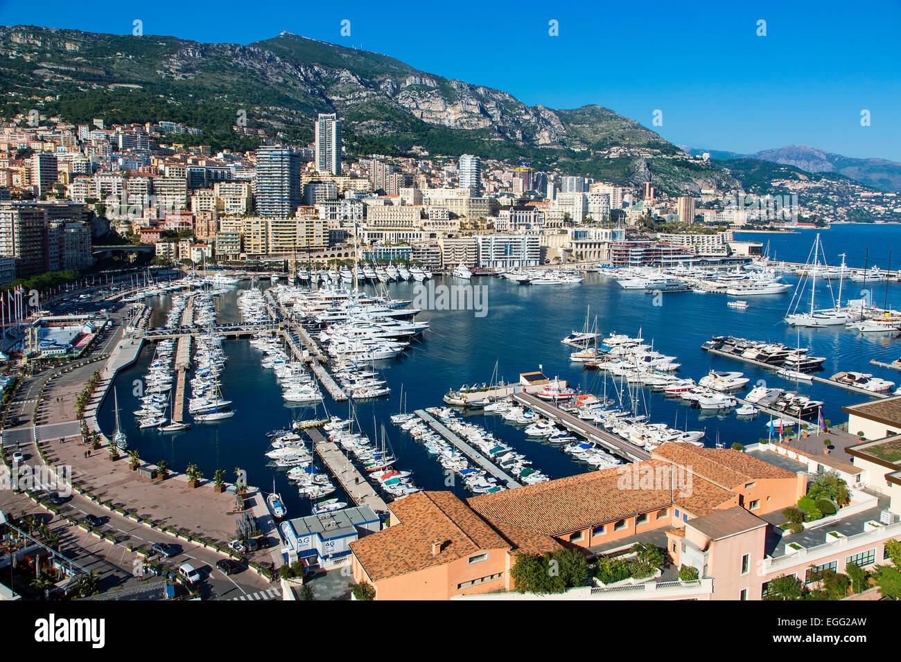 Porto di Monaco Immagini Stock