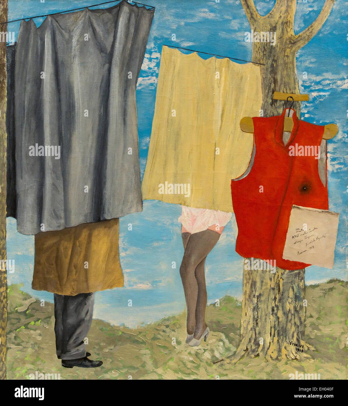 ActiveMuseum_0003422.jpg / gilet Maiakovsky 06/12/2013 - / XX secolo Collezione / Museo attivo Immagini Stock