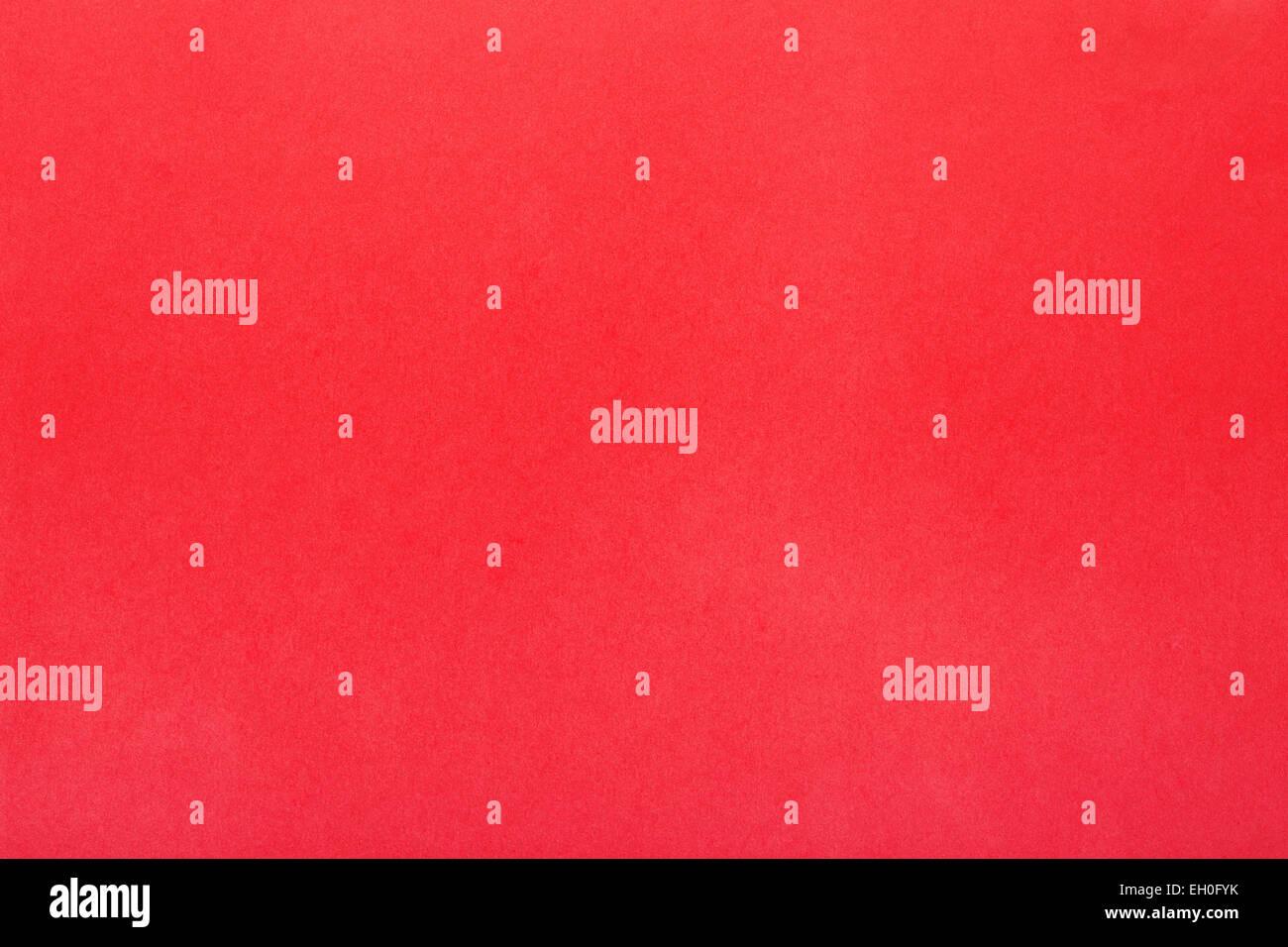 Sfondo Rosso Semplice Di Grana Carta Foto Immagine Stock